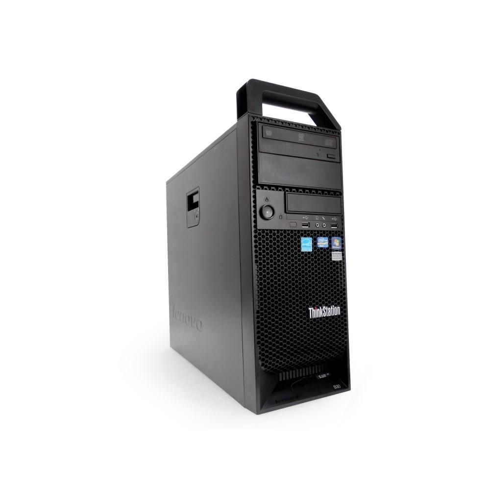 Lenovo ThinkStation D20 / 2x Intel Xeon / SSD+HDD  / 16GB RAM / Nvidia Quadro